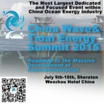 The China Wave  Tidal Energy Summit 2015