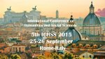 5th ICHSS 2015 International Conference on Humanities and Social Sciences