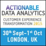 Actionable Data Analytics Customer Experience Transformation 2015