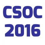 5th Computer Science On-line Conference 2016 - CSOC 2016