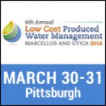 6th Annual Low Cost Produced Water Management Marcellus  Utica