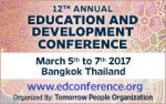 EDC 2017 - 12th Annual Education and Development Conference
