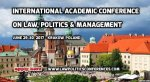 The 4th International Academic Conference on Law, Politics and Management