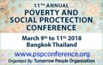PSPC 2018 - 11th Annual Poverty and Social Protection Conference