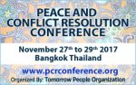 PCRC 2017 - Peace and Conflict Resolution Conference 2017