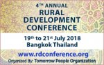 4th Annual Rural Development Conference