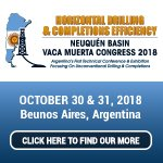 Horizontal Drilling  Completions Efficiency Congress 2018 Vaca Muerta  Neuquen Basin