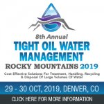 8th Annual Upstream  Midstream Tight Oil Water Management Rocky Mountains 2019