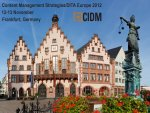 Content Management Strategies/DITA Europe Conference