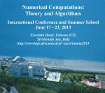 Numerical Computations Theory and Algorithms (International Conference and Summer School NUMTA2013)