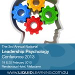 The 3rd Annual National Leadership Psychology Conference 2013