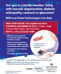 Free Low Vision Open House