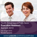 The 9th Annual National Public Sector Executive Assistant Summit 2013