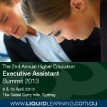 The 2nd Annual Higher Education Executive Assistant Summit 2013