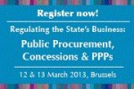 Regulating the States Business - Public Procurement, Concessions and Public Private Partnerships
