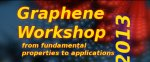 Graphene Workshop 2013 - from fundamental properties to application