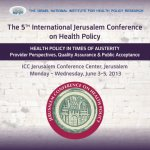 The 5th International Conference on Health Policy