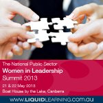 The National Public Sector Women in Leadership Summit 2013