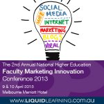 The 2nd Annual National Higher Education Faculty Marketing Innovation Conference 2013