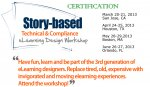Story-based Technical  Compliance eLearning Design Workshop