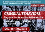 II INTERNATIONAL CONGRESS OF THE ADVANCED HIGH SCHOOL OF CRIMINOLOGICAL SCIENCES  CRINVE 2013