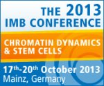 2013 IMB Conference on Chromatin Dynamics and Stem Cells