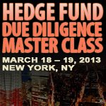 Hedge Fund Due Diligence Master Class