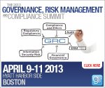 Governance, Risk Management and Compliance Summit Boston 2013
