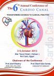 The 6th Annual Conference of Cardio Canal 2013