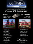 Pennsylvania UFO Conference - October 2013