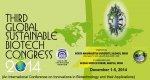 3rd Global Sustainable Biotech Congress (GSBC) - 2014