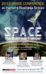 2013 Space Conference at Harvard Business School