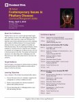 9th Contemporary Issues in Pituitary Disease: Case-based Management Update