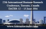 Call For Papers: 27th International Business Research Conference