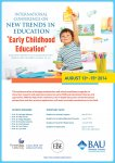 International Conference on New Trends in Education