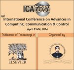 Advances in Computing, Communication and Control (ICAC315)
