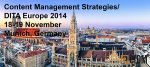 Content Management Strategies/DITA Europe Conference 2014