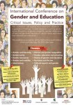 International Conference on Gender and Education Critical Issues, Policy and Practice