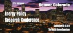 2015 Energy Policy Research Conference - Denver, CO